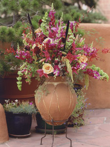 Santa Fe Wedding flowers Margaret Bost